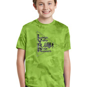 YST370 - Sport-Tek® Youth CamoHex Tee